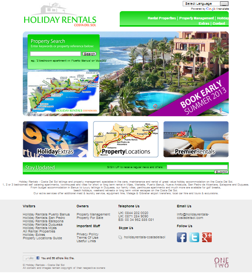 Holiday Rentals - Costa Del Sol